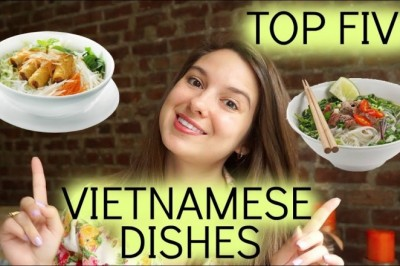 My top 5 favorite Vietnamese dishes