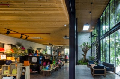 Hidden stunning workplace in Binh Chanh District, Ho Chi Minh city