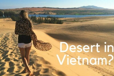 Beaches and Sand Dunes in Mui Ne